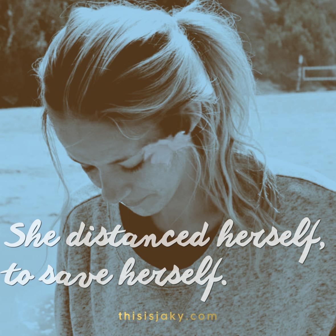 to save herself.jpg
